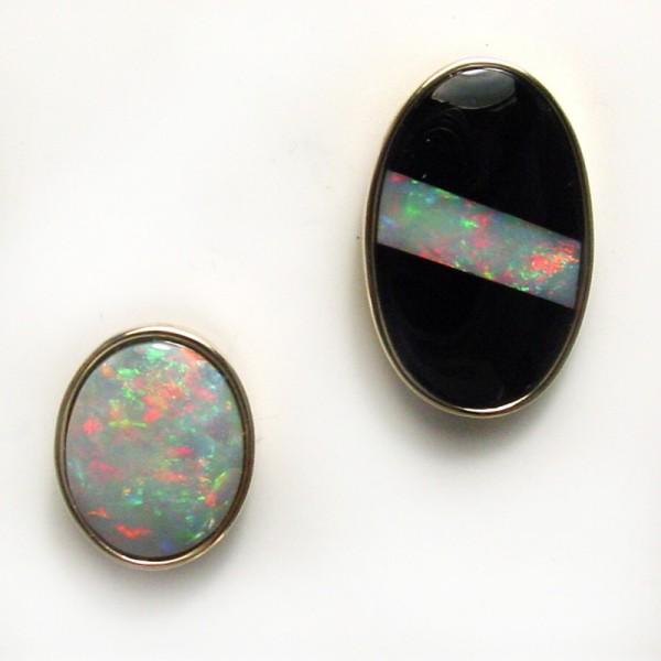 Opal Tie Tacs Tamron Jewelry